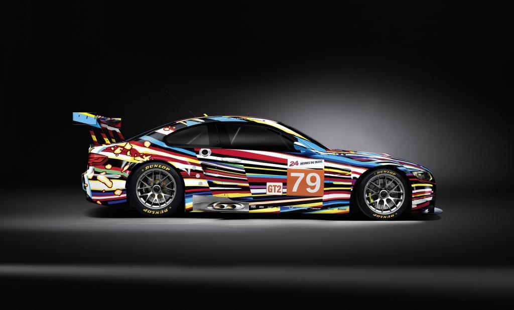 BMW GT2 für Le Mans, gestaltet von Jeff Koons.