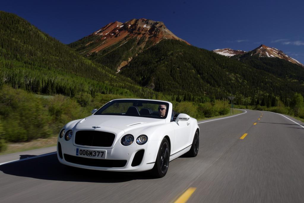 Bentley Continental Supersports Cabrio: Schokostreusel für Sonnengenuss