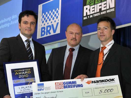 Bundesverband Reifenhandel vergab Marketing Awards