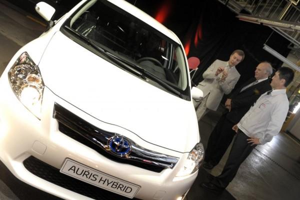 Burnaston: Produktion von Toyotas Auris Hybrid angelaufen