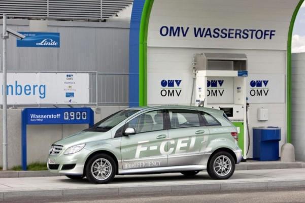 Daimler Elektroautos bei der Silvretta E-Auto Rallye 2010