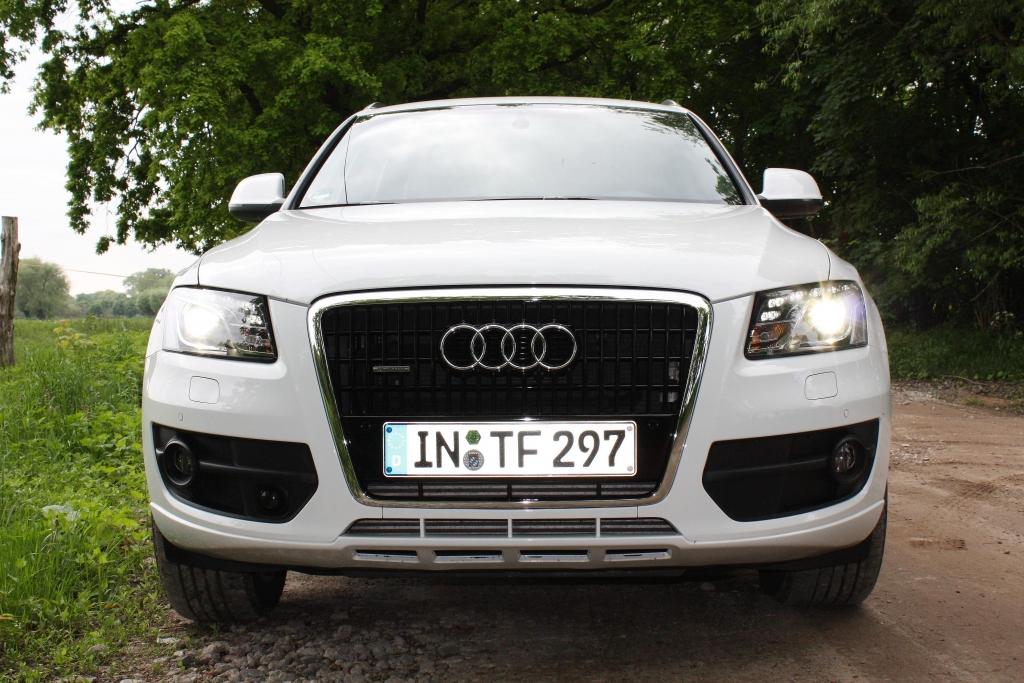 Das besonders geformte Tagfahrlicht ist mittlerweile unverkennbares Audi-Erkennungszeichen.