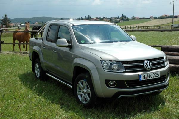 Der Wolf, der die Steine liebt: VW kündigt neuen Amarok-Pickup für Ende September an