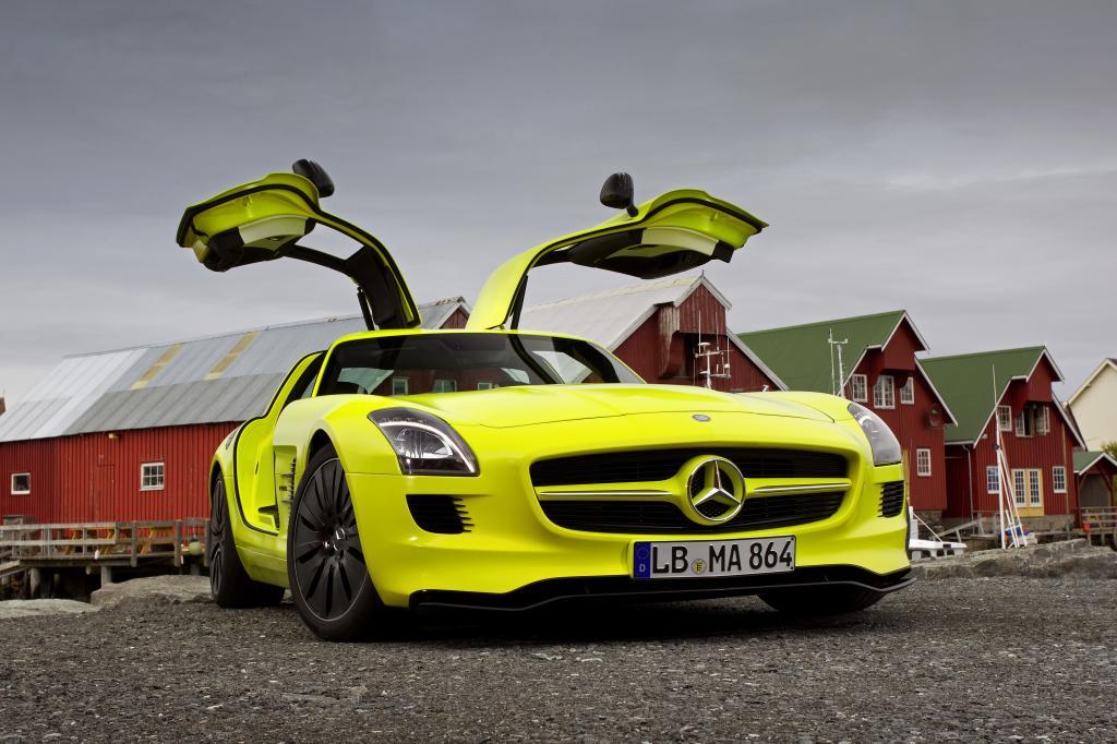 Elektro SLS mit 533 PS: Der neue Mercedes-Benz AMG E-Cell