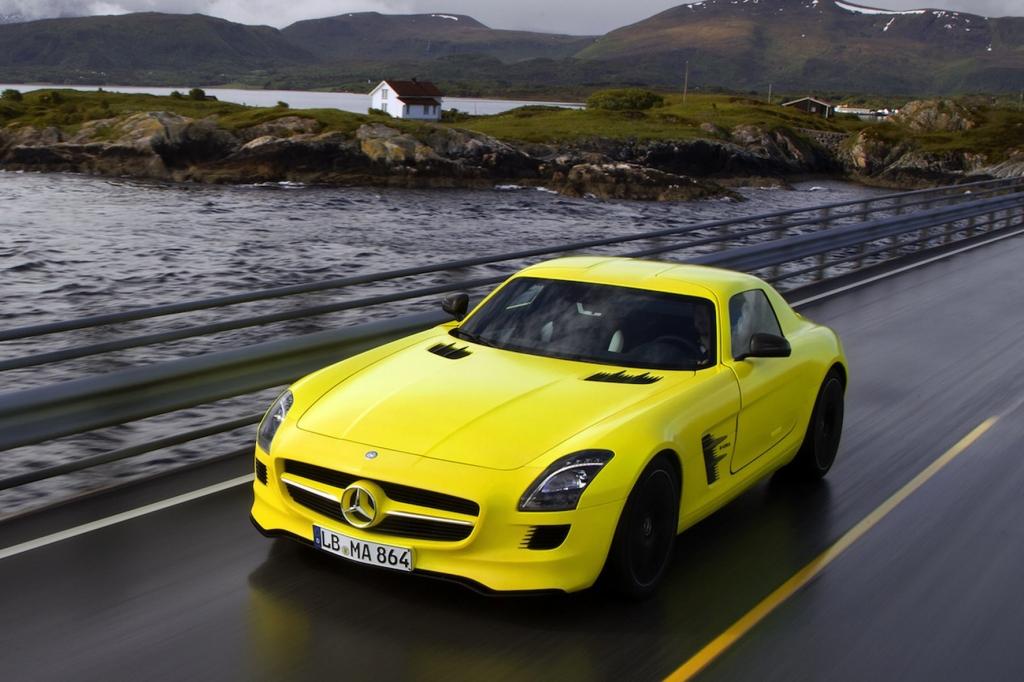 Erfahrungen mit dem Mercedes-Benz SLS AMG E-Cell: Saugeil