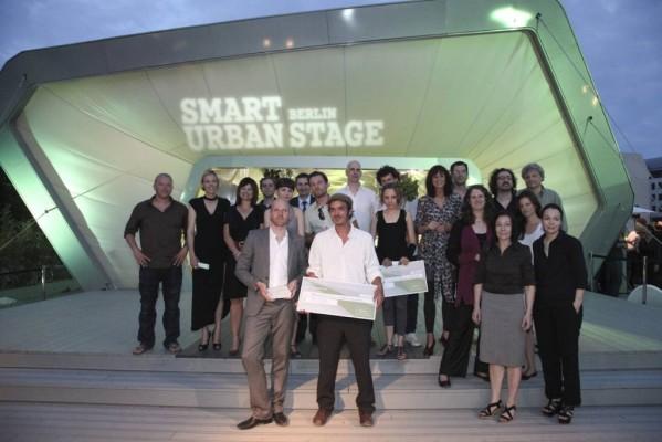 Erster ''smart future minds award'' ging an ''Prinzessinnengärten''