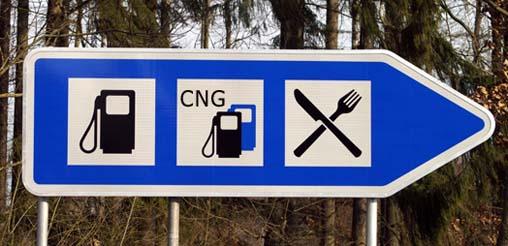 Europäischer Routenplaner für Erdgasfahrzeuge online