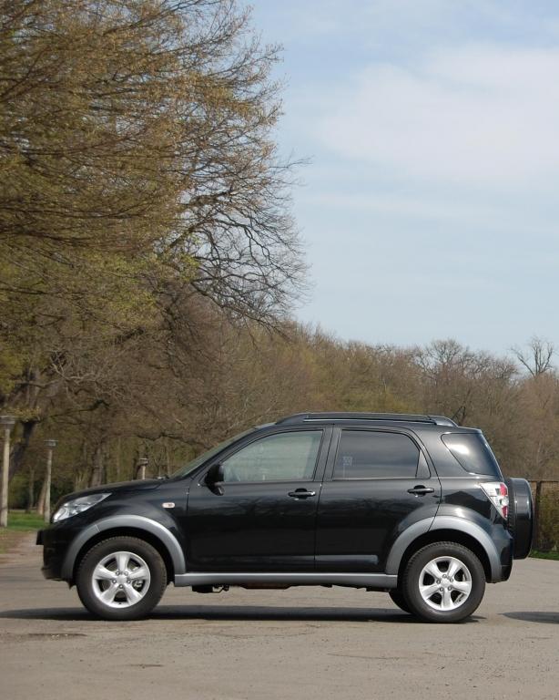 Fahrbericht Daihatsu Terios 4WD top S: Größe kommt von Innen