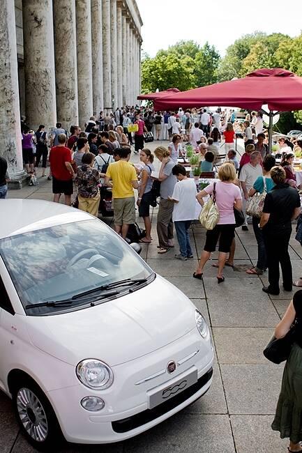 Fiat feiert den 3. Geburtstags seines 500.