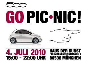 Fiat feiert den Geburtstag des 500 in München.