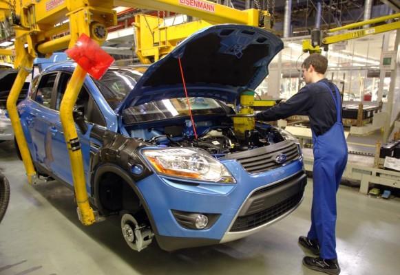 Ford feiert 40 Jahre Autoproduktion in Saarlouis