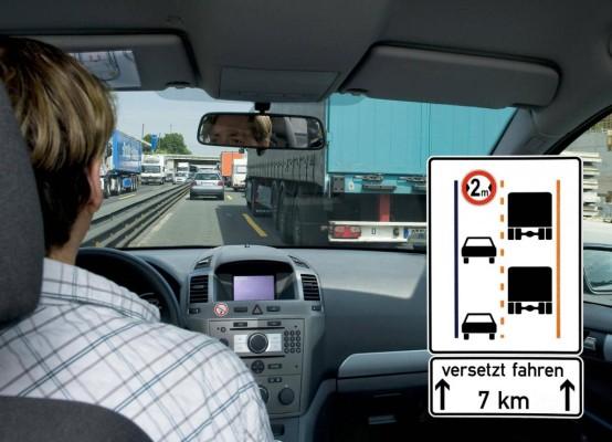 Gefahrenquelle Autobahnbaustelle: Mehr Hektik – weniger Platz