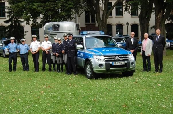 Hessische Polizei übernimmt sieben Mitsubishi Pajero