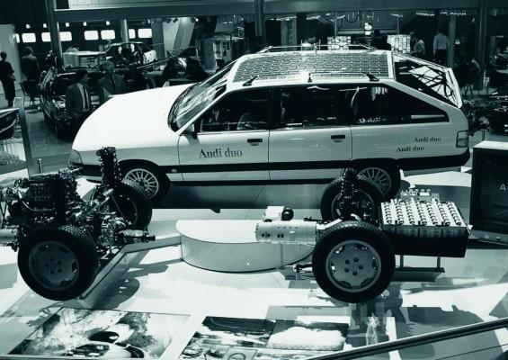 Klassikwelt Bodensee: Audi zeigt Elektroautos