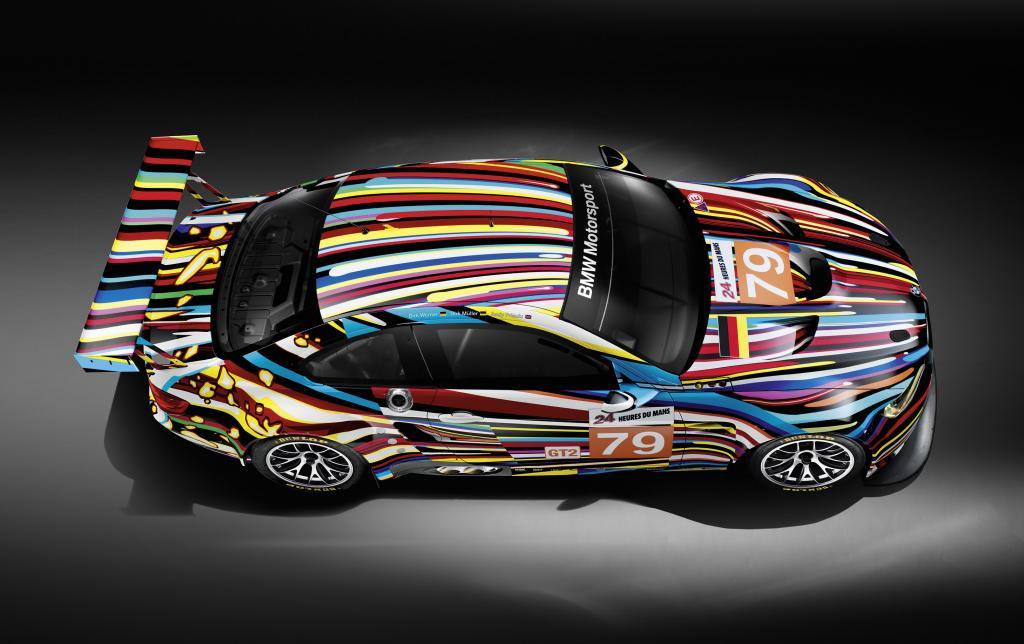 Le Mans: Priaulx, Müller und Werner starten im BMW Art Car