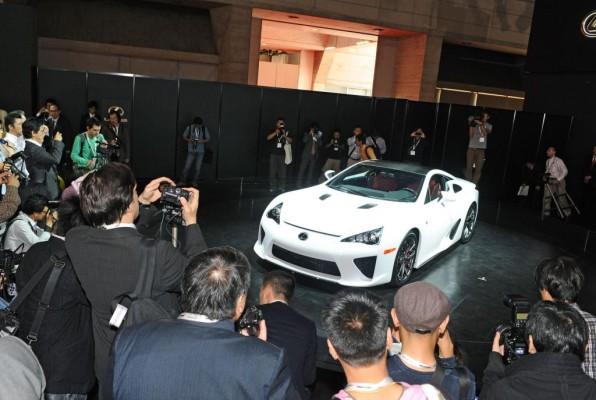 Lexus LFA beim ''Festival of Speed'' in Goodwood