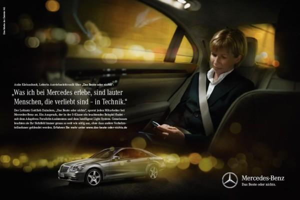 Mercedes-Benz startet Kommunikationsoffensive