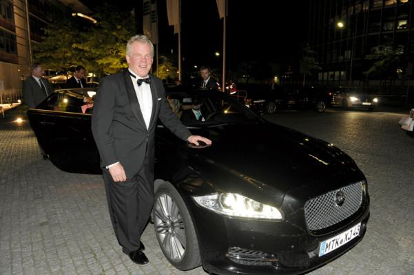 Mit dem Jaguar XJ zur UNICEF-Gala in Wiesbaden
