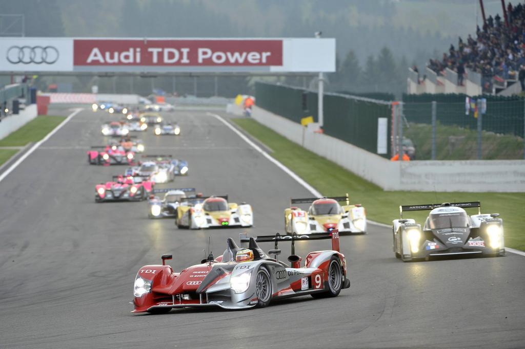 Mit den Audi-Piloten über den Le-Mans-Kurs