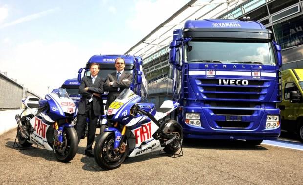 MotoGP-Team Fiat-Yamaha fährt mit Iveco zu den Rennen
