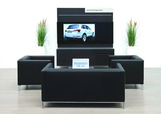 Neuer Audi-Konfigurator schafft Vorfreude in 3-D