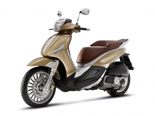Piaggio hat den Berverly modifiziert