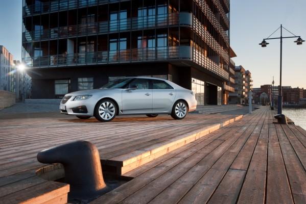 Produktion des Saab 9-5 ist angelaufen
