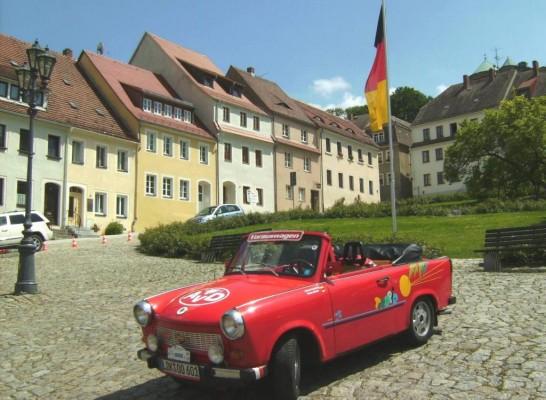 Renn-Pappe tourt durch Sachsen und Thüringen