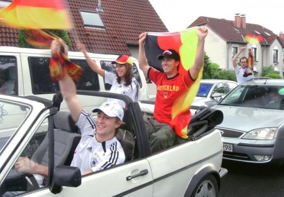 Richtig Flagge zeigen beim Sommermärchen