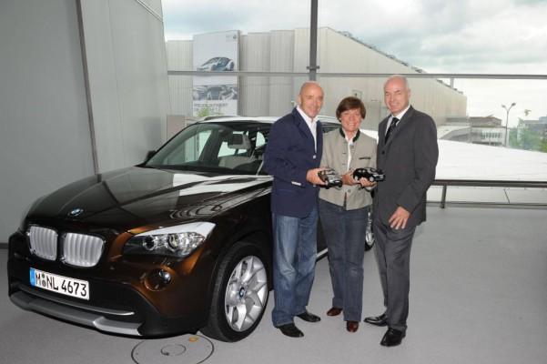 Rosi Mittermaier und Christian Neureuther werden Wintersportbotschafter der BMW Group