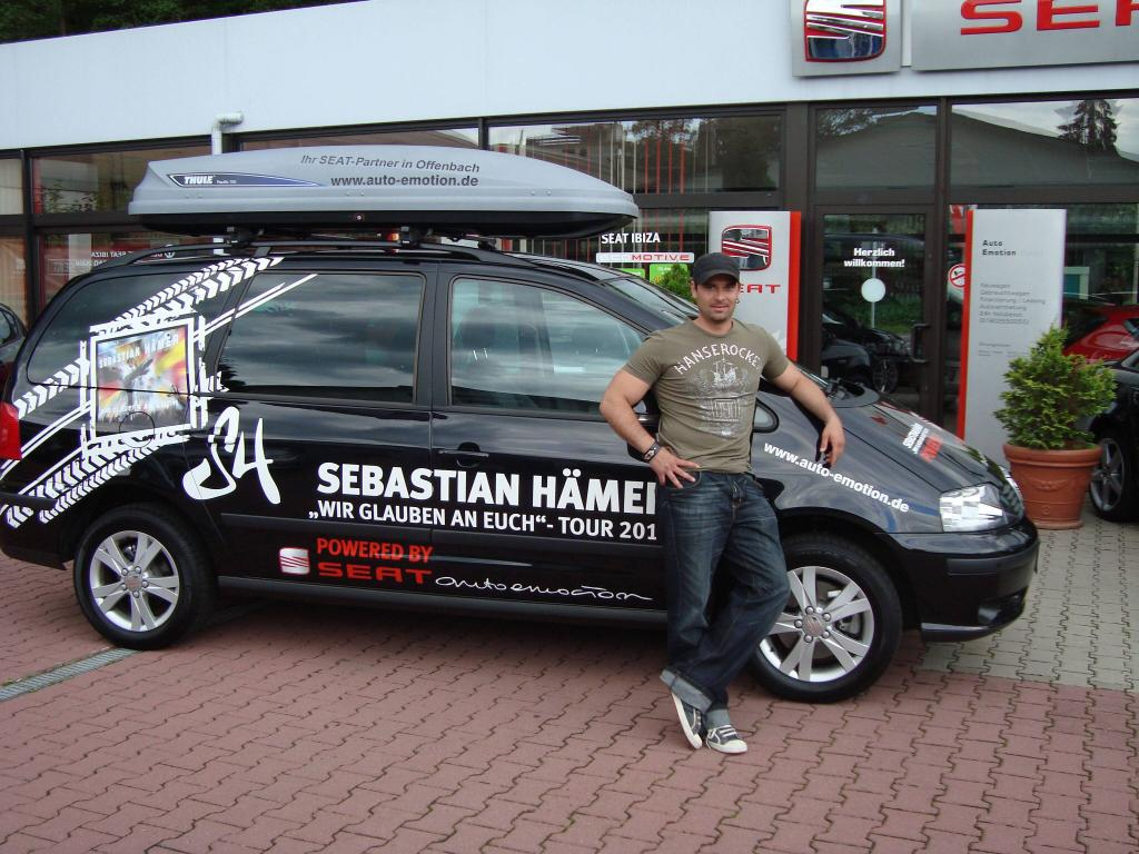 Sebastian Hämer auf WM-Tournee