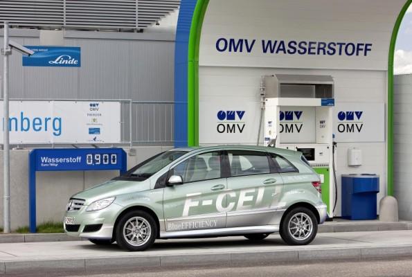 Sechs Elektroautos von Daimler starten bei Silvretta-Rallye