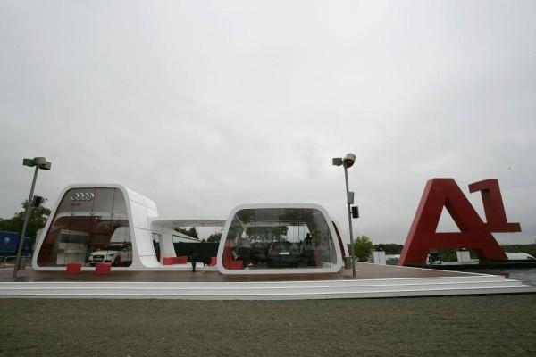Starker Auftritt des neuen Audi A1 in Le Mans