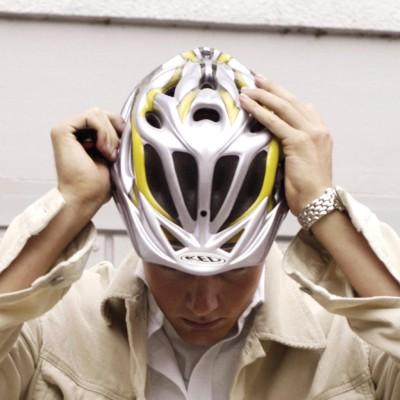 Stinkender Fahrradhelm als Warnsignal