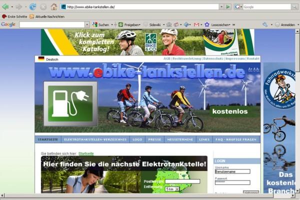 Stromtankstellen online finden
