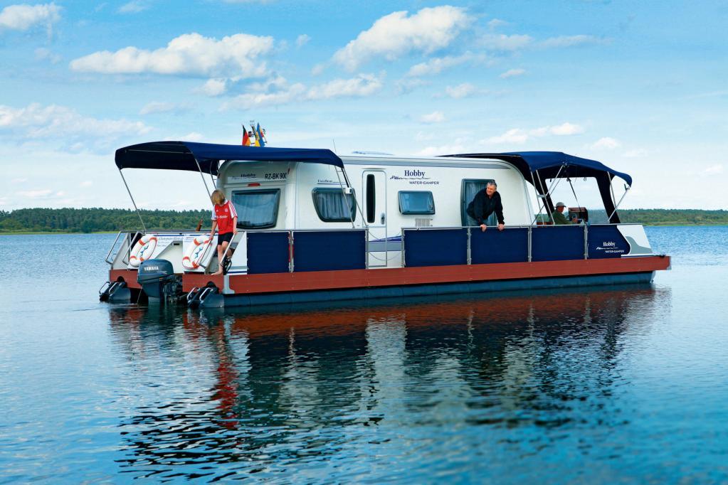 Technus Water Camper: Schwimmender Wohnwagen