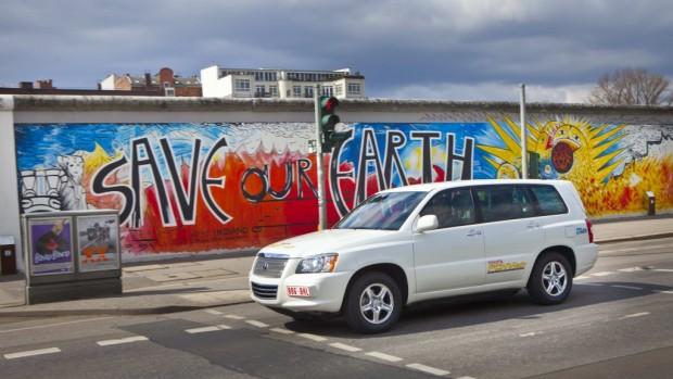 Toyota FCHV-adv: Unauffällig in die Zukunft