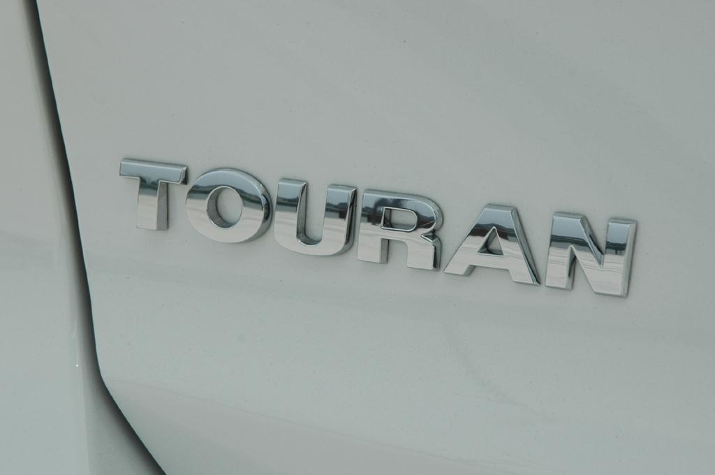 VW Touran: Schriftzug am Heck.