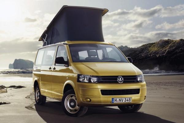 Volkswagen California Beach serienmäßig mit Aufstelldach