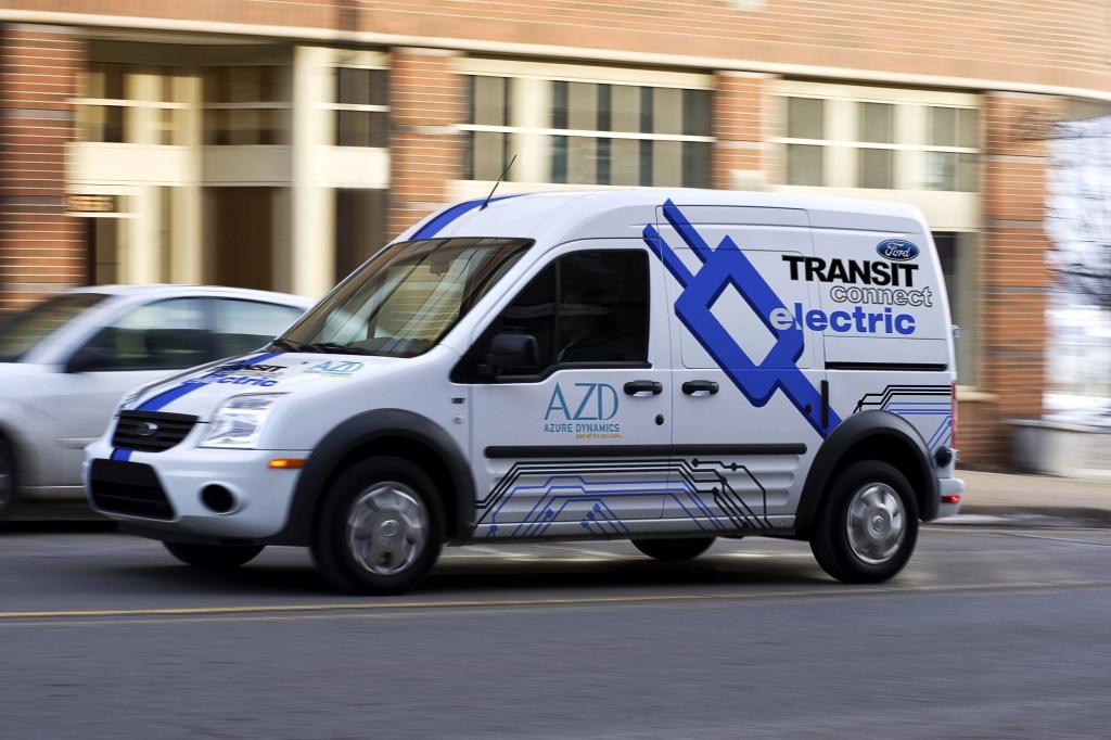 Vorstellung Elektro-Prototyp des Ford Transit: Schon ganz schön mobil
