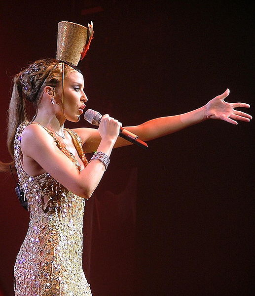 Wer wäre Ihr Lieblingsbeifahrer? Kylie Minogue.