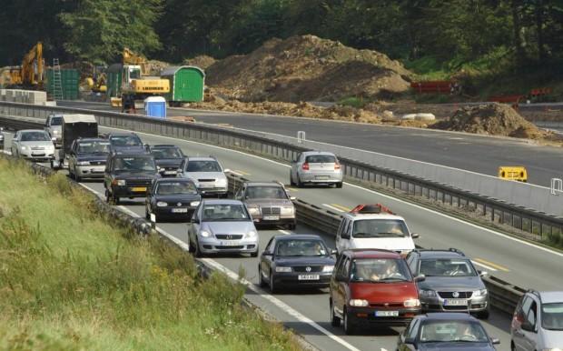Zahl der Autobahnbaustellen rückläufig