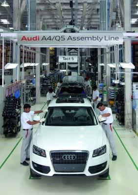 Audi startet Q5-Montage in Indien