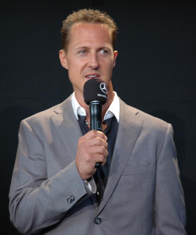 """""""Viele schöne Momente"""": Mercedes/Petronas-Pilot Michael Schumacher."""