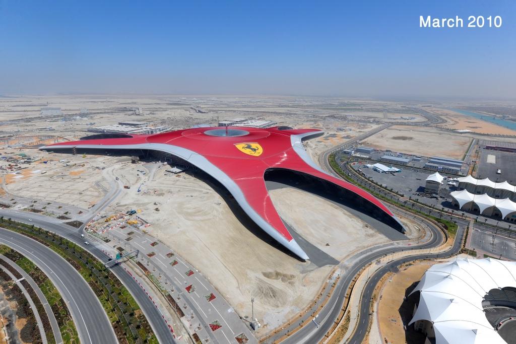 200.000 qm groß ist das Ferrari-Dach