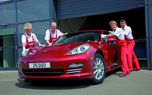 25.000. Panamera im Porsche-Werk Leipzig gebaut