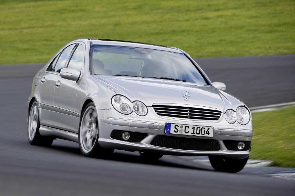 AMG-Historie: Mercedes-Benz C55 AMG von 2004