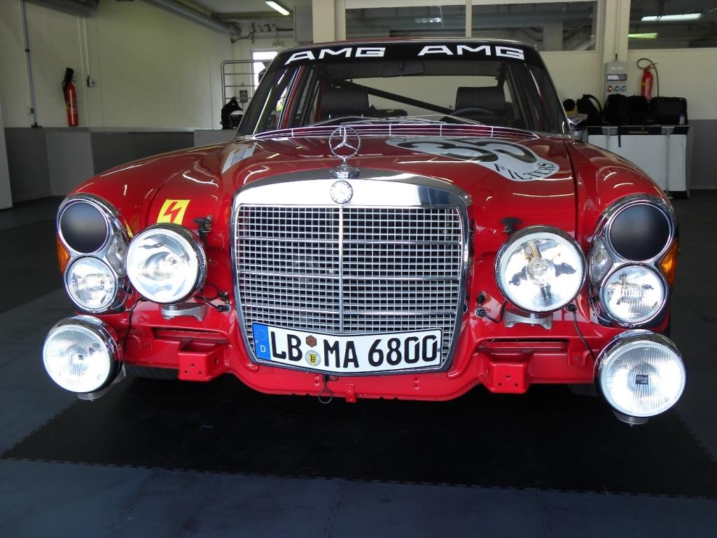 AMG in Le Castellet: Zeitreise mit der ''roten Sau''