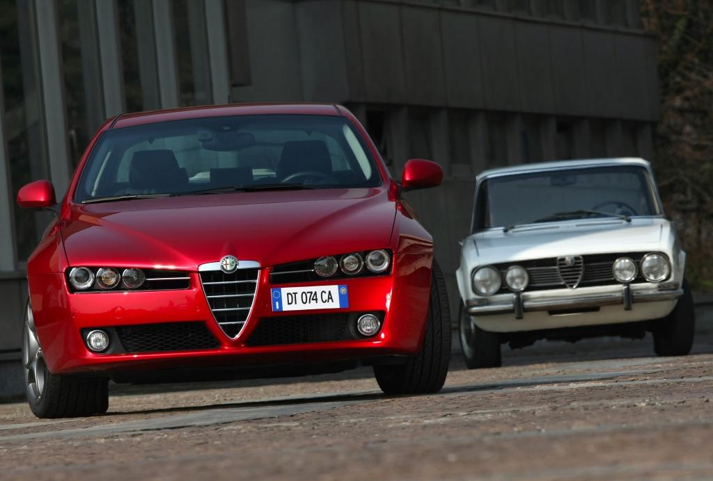 Alfa Romeo 159 - Vorgängermodell