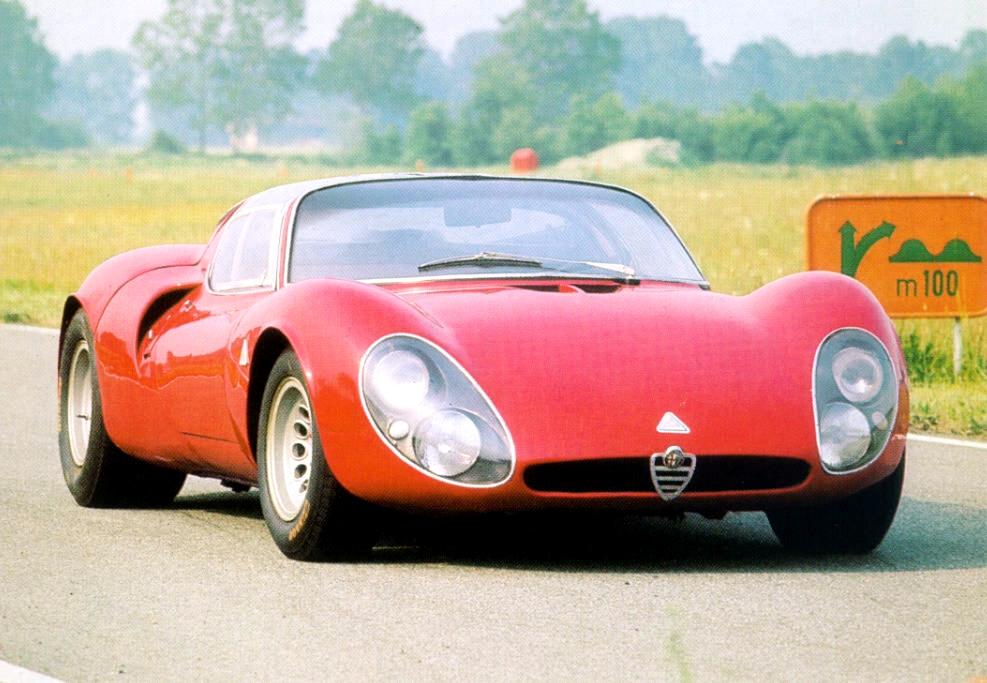 Alfa Tipo 33 Stradale (1967).